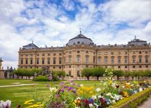 Wurzburg Residence South Garden Franconia Bavaria Germany