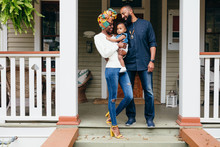Young Family Moves Into New Home