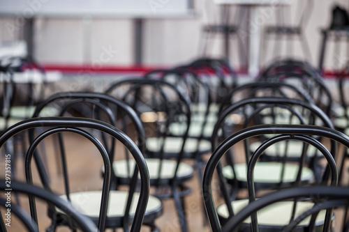 Valokuva aula didattica, sedie, convegno, assemblea