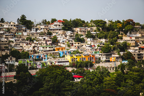 Tablou Canvas Port-au-Prince Haiti