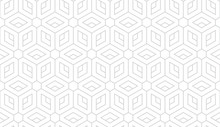 The Geometric Pattern With Lin...