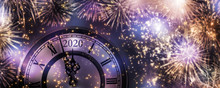 Silvester Feuerwerk 2020
