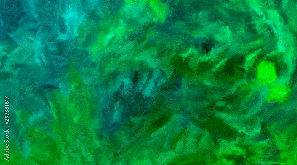 Abstract texture background. Digital painting in Vincent Van Gogh style artwork. Hand drawn artistic pattern. Modern art. Good for printed pictures, postcards, posters or wallpapers and textile print.