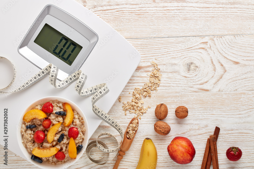 Fototapety, obrazy: Healthy lifestyle concept. Dieting