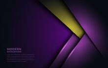 Luxurious Purple And Golden Ov...