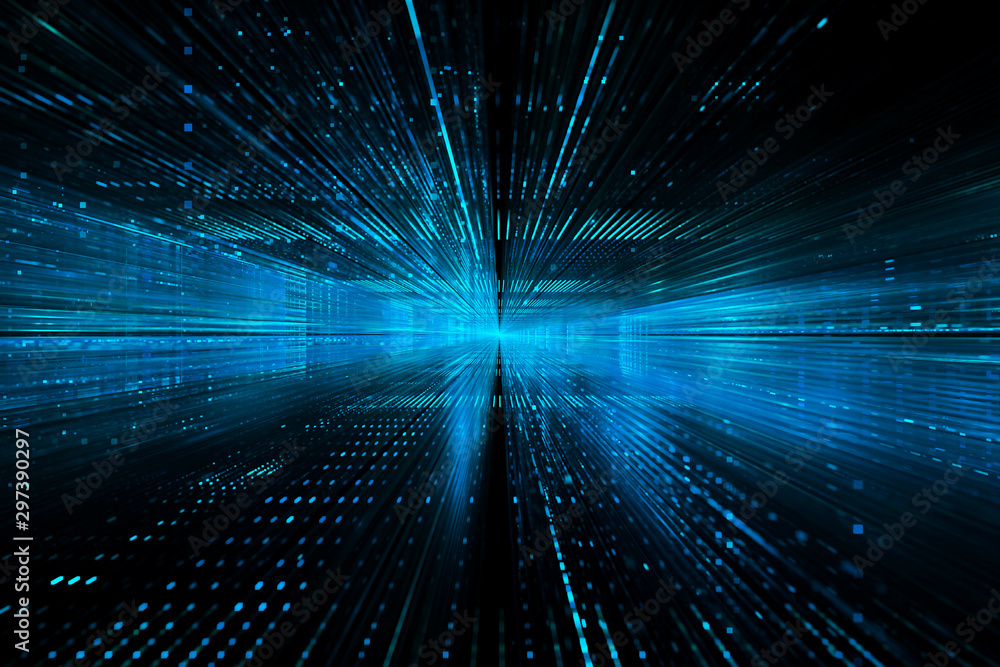 Fototapety, obrazy: Digital technology abstract background