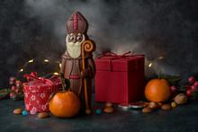 Saint Nicholas Chocolate With Gift