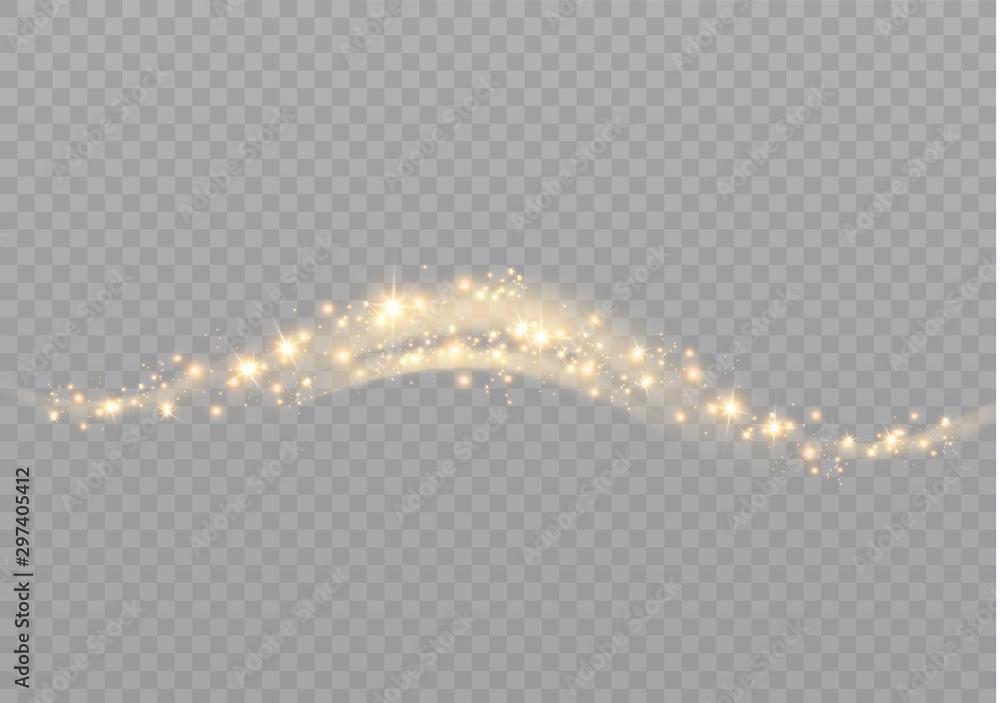 Fototapety, obrazy: dust sparks stars