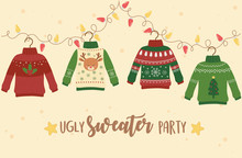 Christmas Ugly Sweater Party D...