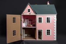 Doll's House In Black Backgrou...