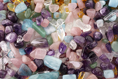 Photo Healing Chakra Crystals Banner