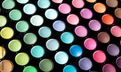 Make-up palette Fototapet