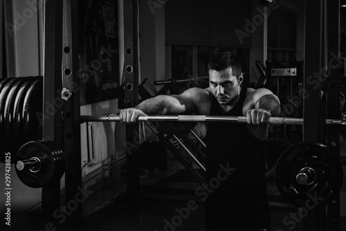 Obraz na plátně  Preparing for workout