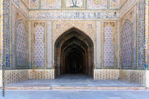 Slika na platnu Vakil mosque in Shiraz - Iran