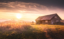 House In Sunset