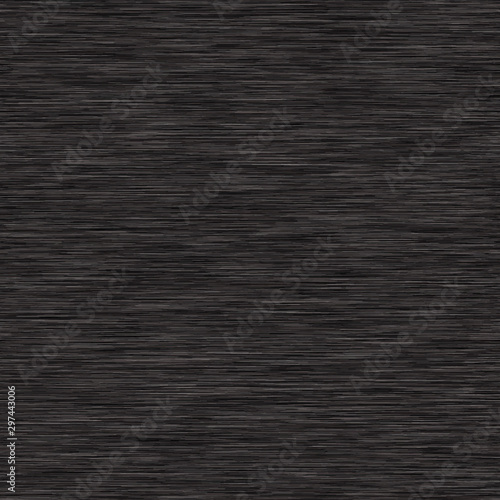 Charcoal Gray Marl Variegated Heather Texture Background. Vertical Blended Line Seamless Pattern. For T-Shirt Fabric, Dyed Organic Jersey Textile, Triblend Melange Fibre All Over Print. Vector Eps 10  Wall mural