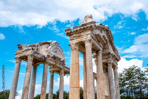 Photo The temple of Aphrodite, it's in the Aphrodisias Ancient City