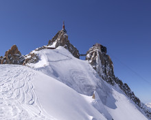 Aiguille Du Midi In French Alp...