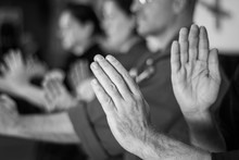Kata Training For Karatekas, Close Up On Hands, Posture