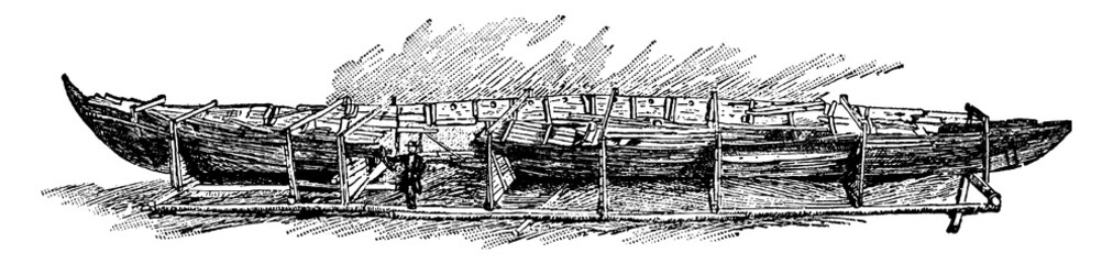 Norse Boat Unearthed at San...