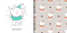 Draw Card And Print Pattern El...