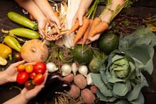 Fresh Farm Vegetables, Organic...