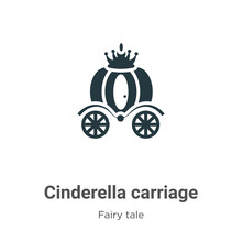Cinderella Carriage Vector Ico...