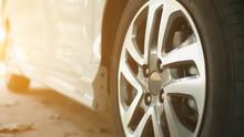 Alloy Wheels Of Modern Cars.