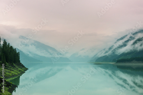 Photo Stands Landscapes Lake in Canada