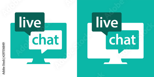 Live chat on computeur
