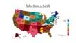 US map savest states