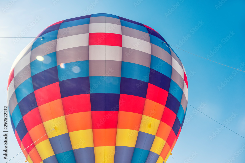 Fototapety, obrazy: Detail From An Air Balloon