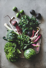 Healthy Grocery Goods. Flat-la...
