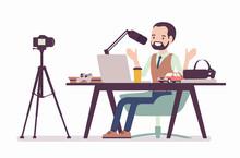 Blogger Podcaster Streaming. M...
