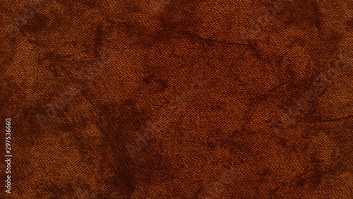 Fotomural  Dark brown,orange color leather skin natural with design lines pattern or red abstract background