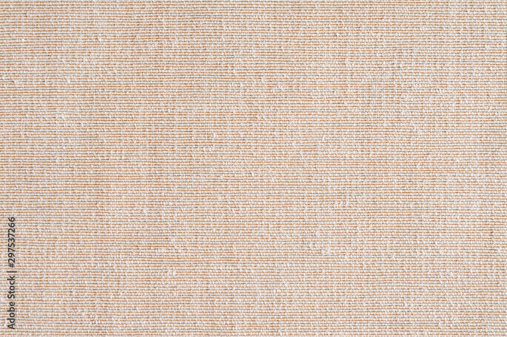 Fototapety, obrazy: Closeup ,beige,light brown color fabric sample texture backdrop.Beige fabric strip line pattern design,upholstery for decoration interior design or abstract background.