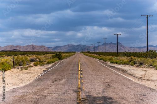 Foto op Plexiglas Route 66 Road to nowhere