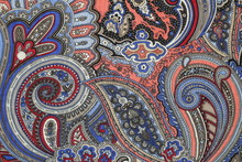 Cucumber Painting Silk Fabric