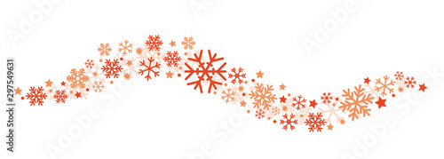 Fotografía  Winter Banner Red