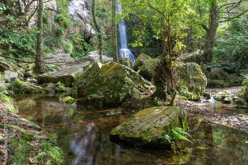 Oneta Falls in Asturias, Spain