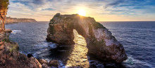 Natural Arch In The Mediterran...