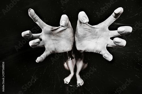 Fotografía  large catch gesture