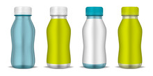 Clear Bottle With Round Screw ...