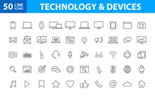 Set Of 50 Device And Technolog...