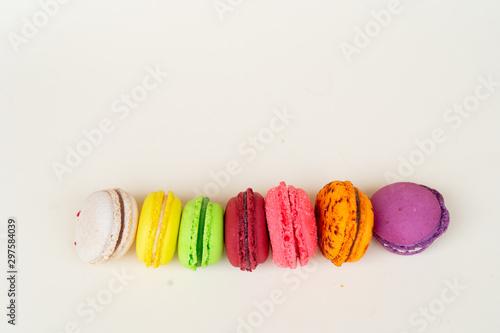 Fotografía Fresh macaroon confection