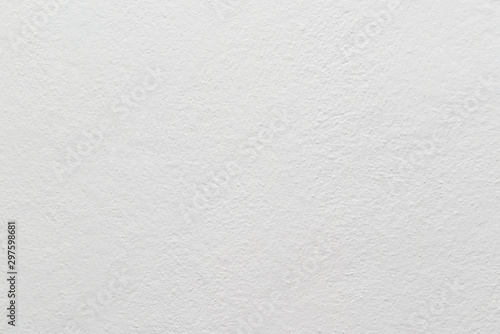 White painted wall texture or background