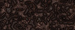 Abstract liquid walnut background