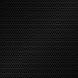 Honeycomb pattern. Black metal texture background. Vector illustration