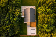 Aerial View Of Modern House