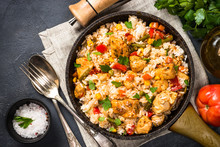 Rice With Chicken And Vegetabl...